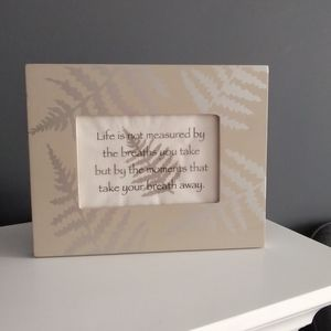 Frame & Inspirational Parchment